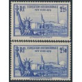 FRANCE - 1939-1940 New York World Expo set of 2, MH – Michel # 444-445