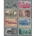FRANCE - 1938 French Regions set of 8, MH – Michel # 408-415