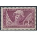 FRANCE - 1930 1.50Fr + 3.50Fr purple Caisse d'Amortissement, MH – Michel # 248