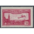 FRANCE - 1930 1.50Fr red Airmail, MH – Michel # 251