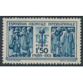 FRANCE - 1931 1.50Fr blue Colonial Exhibition, MH – Michel # 262