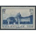FRANCE - 1938 1.75Fr + 75c blue Versailles, MH – Michel # 422