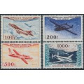 FRANCE - 1954 100Fr to 1000Fr Airmail set of 4, MNH – Michel # 987-990