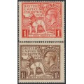 GREAT BRITAIN - 1924 British Empire Exhibition set of 2, MNH - SG # 430-431