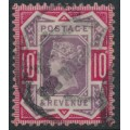 GREAT BRITAIN - 1887 10d dull purple/carmine QV Jubilee issue, used – SG # 210
