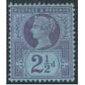 GREAT BRITAIN - 1887 2½d purple/blue Queen Victoria Jubilee issue, MH – SG # 201