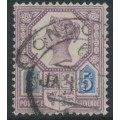 GREAT BRITAIN - 1887 5d dull purple/blue Queen Victoria Jubilee issue, die I, used – SG # 207