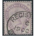 GREAT BRITAIN - 1884 1½d lilac QV, large crown watermark, check letters CH HC, used – SG # 188