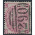 GREAT BRITAIN - 1867 3d rose QV, Spray of Rose watermark, plate 4, used – SG # 103