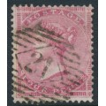 GREAT BRITAIN - 1857 4d rose Queen Victoria, Large Garter watermark, used – SG # 66a