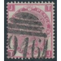 GREAT BRITAIN - 1867 3d rose QV, Spray of Rose watermark, plate 10, used – SG # 103
