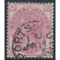 GREAT BRITAIN - 1881 3d rose Queen Victoria, Imperial Crown watermark, plate 21, used – SG # 158