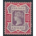 GREAT BRITAIN - 1890 10d dull purple/carmine Queen Victoria Jubilee issue, MH – SG # 210