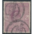 GREAT BRITAIN - 1905 2/6 dull purple KEVII definitive (chalk surfaced), used – SG # 262