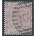 GREAT BRITAIN - 1875 2½d rosy mauve QV, Anchor watermark, plate 3, used – SG # 139