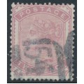 GREAT BRITAIN - 1880 2d pale rose QV, Imperial Crown watermark, used – SG # 168