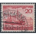 WEST GERMANY - 1952 20pfg red Heligoland, used – Michel # 152