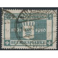 WÜRTTEMBERG - 1916 2½pf grey-turquoise King Wilhelm II Jubilee, used – Michel # 123