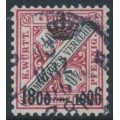 WÜRTTEMBERG - 1906 40pf deep rose-red/black Numerals, Centenary overprint, used – Michel # 224