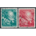 WEST GERMANY - 1949 Opening of Parliament set of 2, used – Michel # 111-112