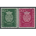 WEST GERMANY - 1950 Bach Anniversary set of 2, used – Michel # 121-122