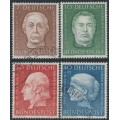 WEST GERMANY - 1954 Helfer der Menschheit Welfare set of 4, used – Michel # 200-203