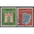 WEST GERMANY - 1953 IFRABA Stamp Exhibition set of 2, used – Michel # 171-172