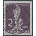WEST BERLIN - 1949 2Mk deep grey-purple UPU Anniversary, used – Michel # 41