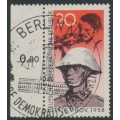 EAST GERMANY / DDR - 1958 20pf Anniversary of the November Revolution, used – Michel # 662