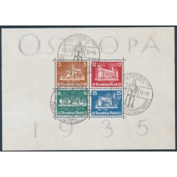 GERMANY - 1935 OSTROPA Stamp Exhibition S/S, used – Michel # Block 3
