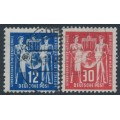 EAST GERMANY / DDR - 1949 Postal Conference set of 2, used – Michel # 243-244