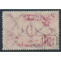 GERMANY - 1923 200Mk deep rose Numeral, offset on reverse, geprüft, used – Michel # 248c