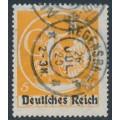 GERMANY - 1920 5Mk orange Bavarian issue o/p DEUTSCHES REICH (type II), used – Michel # 136II