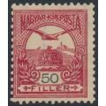 HUNGARY - 1900 50f deep carmine/black Turul, perf. 12:11½, MNH - Michel # 65A