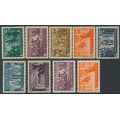 HUNGARY - 1938 Death of St. Stephen set of 9, MNH – Michel # 576-584