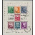 HUNGARY - 1938 International Eucharist Congress M/S, used – Michel # Block 3