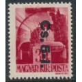 HUNGARY - 1946 30f carmine-red Crown overprinted Cs.5-1., MNH – Michel # 860