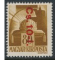 HUNGARY - 1946 80f olive-brown Crown overprinted Cs.10-1., MNH – Michel # 861