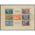 HUNGARY - 1938 Death of St. Stephen (Szent István) M/S, used – Michel # Block 4