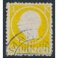 ICELAND - 1912 1Kr yellow King Frederik VIII, used – Facit # 118