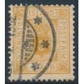 ICELAND - 1895 3a ochre Numeral, perf. 12¾, ÞJÓNUSTU (Official), used – Facit # TJ10