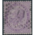 ITALY - 1863 60c violet King Vittorio Emanuele II, used – Michel # 21