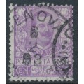 ITALY - 1901 50c purple King Vittorio Emanuele III, used – Michel # 82