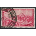 ITALY - 1948 20L carmine-red Anniversary of the 1848 Uprising, used – Michel # 756