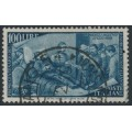 ITALY - 1948 100L blue-grey Anniversary of the 1848 Uprising, used – Michel # 759