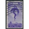 ITALY - 1949 20L violet World Health Congress, used – Michel # 780