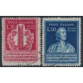 ITALY - 1949 Alexander Volta set of 2, used – Michel # 784-785