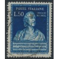 ITALY - 1949 50L dark blue Alexander Volta, used – Michel # 785
