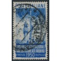 ITALY - 1950 55L blue International Radio Conference, used – Michel # 797