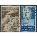 ITALY - 1951 Milan Fair set of 2, used – Michel # 830-831